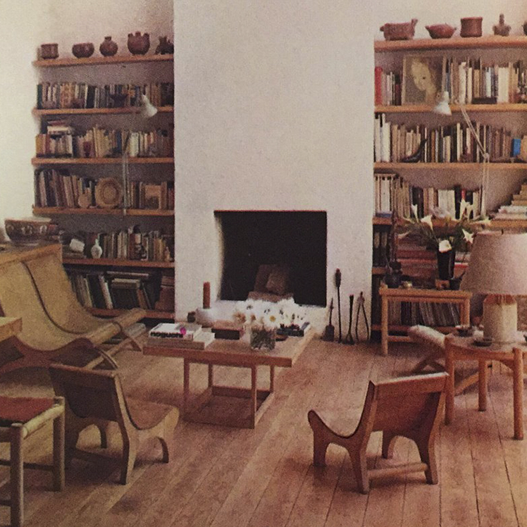 The home and studio of Mexican designer Clara Porset where she lived and worked in her later life.