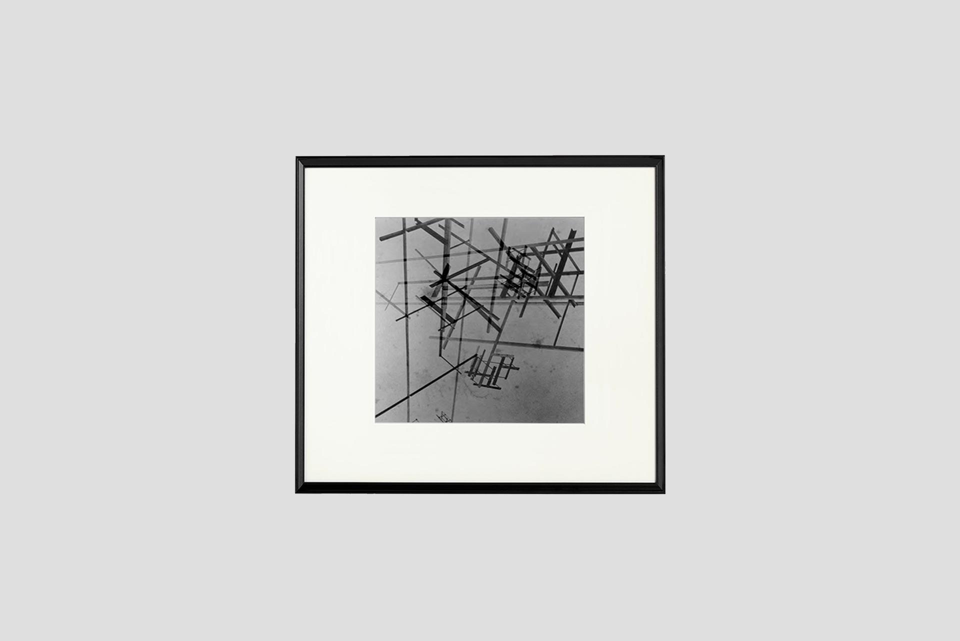 Sans titre. Superimposed on the shot São Paulo, 1949/2014 Silver gelatin print